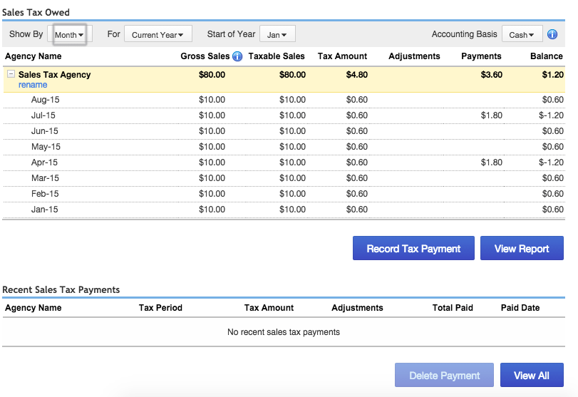 how to submit sales tax return online