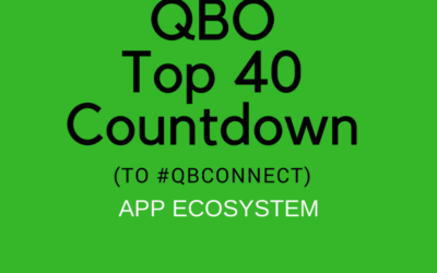QBO TOP 40 COUNTDOWN (to #QBConnect) App Ecosystem