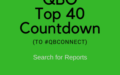 QBO Top 40 Countdown (to #QBConnect) – Search for Reports
