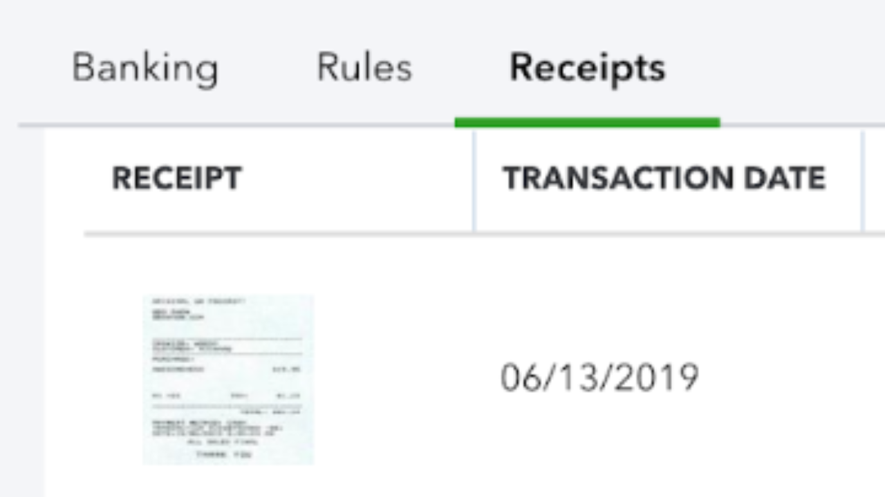 Receipt Capture in QuickBooks Online - StacyK